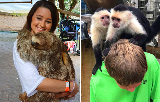 Roatan Monkey and Sloth Sanctuary Hangout Tour