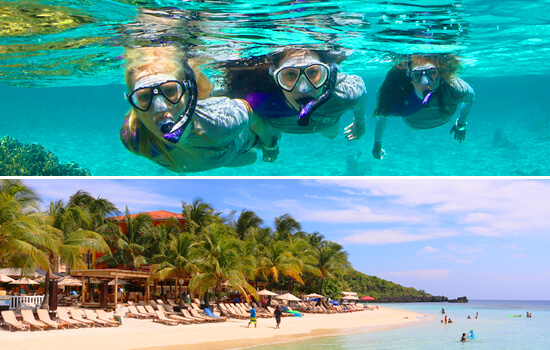 Snorkeling & West Bay Beach Tour